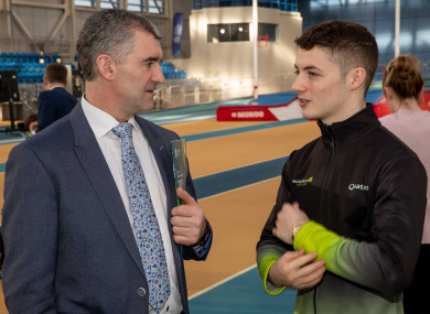 Tipperary hurling manager Liam Sheedy, who also serves as Chair of Sport Ireland's High Performance Programme, speaks with Rhys McClenaghan.