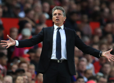 Puel's side have suffered five defeats in their last six Premier League outings.