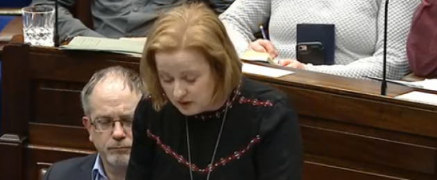 Solidarity TD Ruth Coppinger.