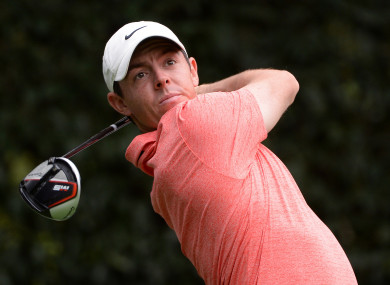 McIlroy in action at the WGC Mexico Championship last week.