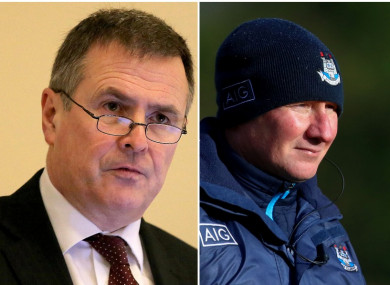 Peter McKenna has defended the Croke Park pitch surface after criticism by county managers.