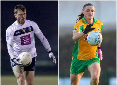 Clubmates Liam Silke and Kieran Molloy have two major games fixed for the same day.