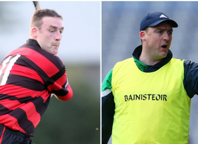 Andy Moloney has enjoyed hurling success with both Ballygunner and Ballyhale.