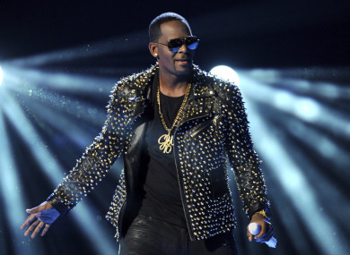 R. Kelly performs in Los Angeles (file photo)