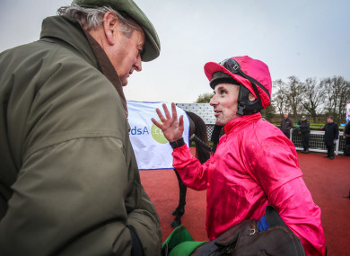 Sean Flanagan will ride the Noel Meade-trained Fauguernon.