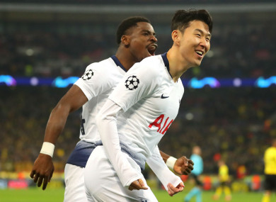 Son Heung-min has scored 11 goals in his last 12 games.