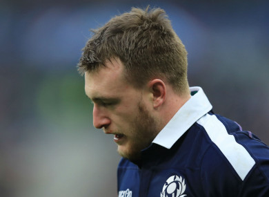 Scotland full-back Stuart Hogg.