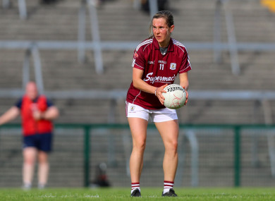 Tracey Leonard was on the scoresheet as  Galway made it two wins from two in Division 1.