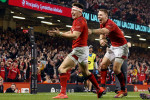 Relive the sensational Josh Adams try which sealed Wales' win over England