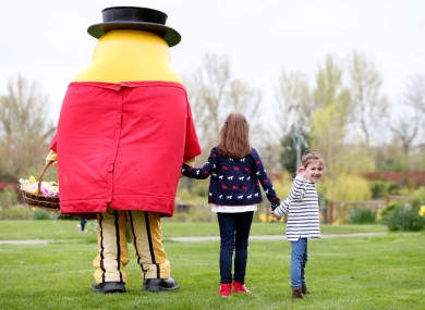 Mr Tayto (he's on the left there)