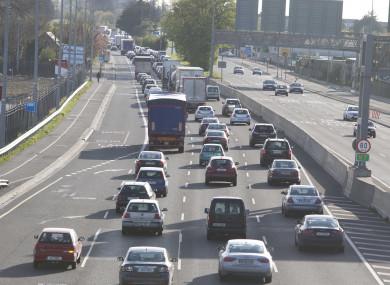 File photo. The M50 in Dublin