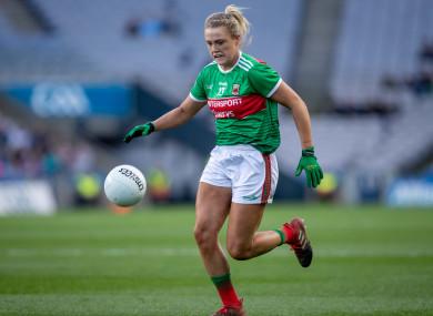 Fiona Doherty scored 1-2 during Mayo's win.