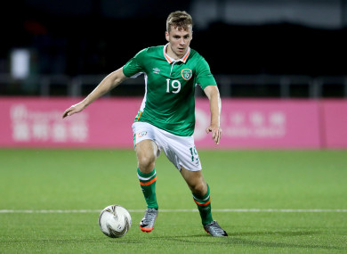 Ireland Universities international Joe Doyle was tonight's match-winner for Bray Wanderers (file pic).