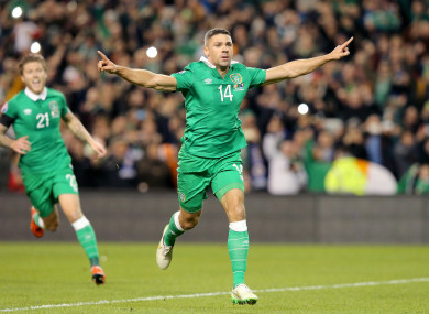 Walters scored a crucial double against Bosnia during a Euro 2016 play-off.