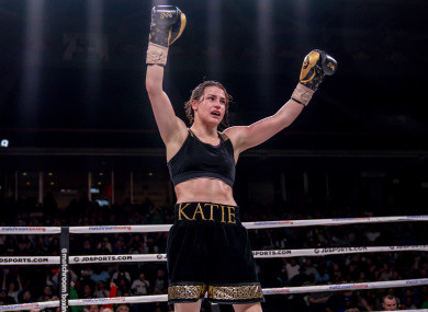 Promoter Eddie Hearn says Delfine Persoon's team have already agreed a deal in principle to face Katie Taylor, and will receive the contract on Monday.