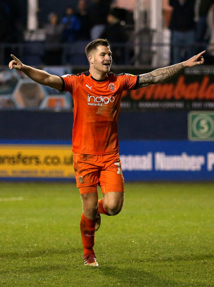 James Collins earns his first Ireland call-up as a result of his goalscoring form for Luton Town.