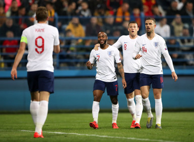 It was another superb performance from England.