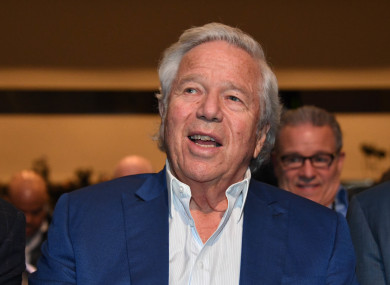 Robert Kraft has issued an apology.