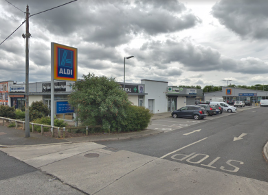 The Aldi on the Old Lucan Road, Palmerstown which John Cash pleaded guilty to robbing.