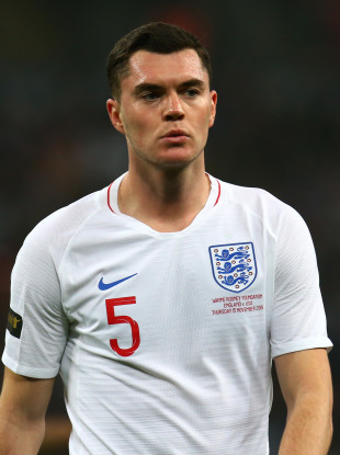 Michael Keane declared for England after being capped for Ireland at underage level.