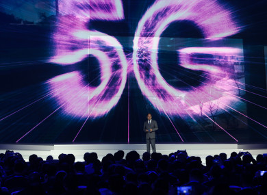 Huawei is the leading manufacturer of 5G technology.