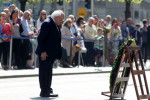 President Michael D Higgins at today's ceremony