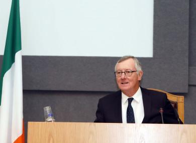 Chairman Mr Justice Seán Ryan