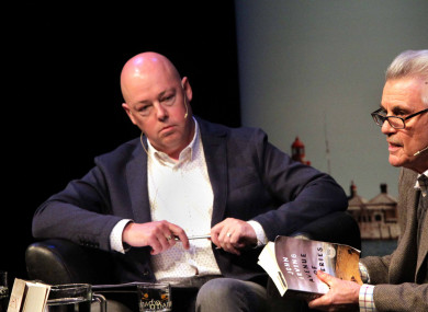 Author John Boyne at a launch in February