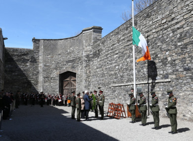 Kilmainham Gaol where the 1916 leaders were executed.