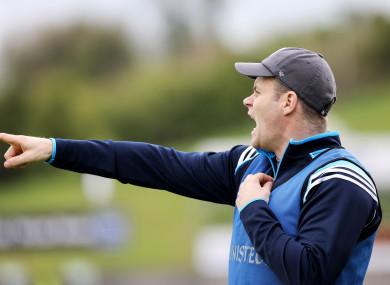 Former Dublin U21 boss Dessie Farrell.