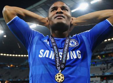Malouda was part of Chelsea's Champions League triumph in 2012.