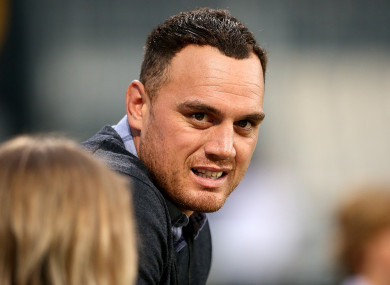 Israel Dagg, pictured during the British and Irish Lions' tour of New Zealand in 2017.