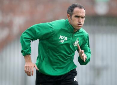 Shamrock Rovers' defender Joey O'Brien.