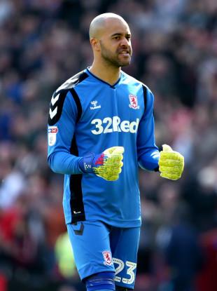 Darren Randolph of Middlesbrough.