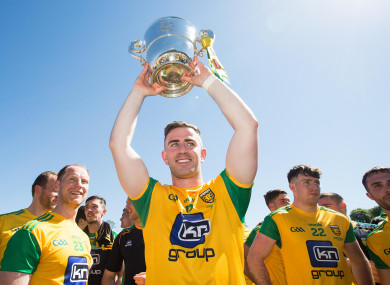 McBrearty did his cruciate in last year's Ulster final.