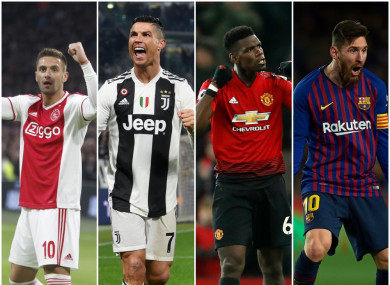 Huge Champions League night for Ajax, Juventus, Man United and Barcelona.