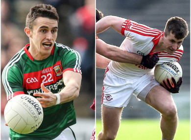 Cian Hanley and Cillian O'Connor have recovered from knee injuries.