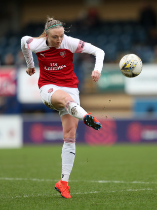 Arsenal and Ireland defender Louise Quinn.