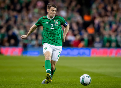Ireland captain Seamus Coleman appears to be back to his best.