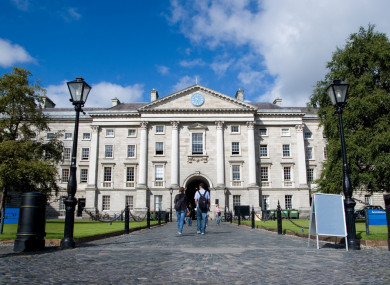File photo of Trinity College Dublin
