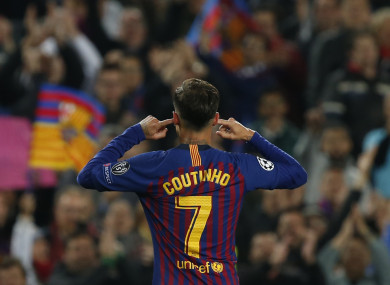 Phillippe Coutinho responds to his critics at Barcelona.