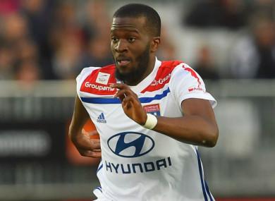 Lyon midfielder Tanguy Ndombele
