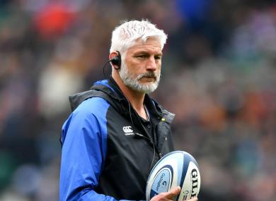 Bath director of rugby Todd Blackadder.