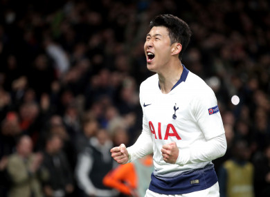 acd738ba4cd Tottenham stun Man City but win comes at a cost · The42