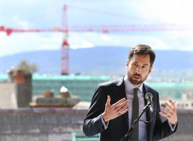 Housing Minister Eoghan Murphy