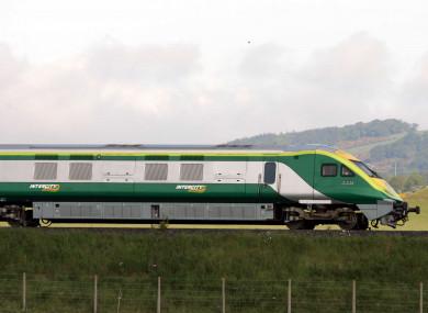 An Irish Rail train (file photo)