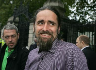 Independent MEP Luke 'Ming' Flanagan was the most active tweeter in recent weeks.