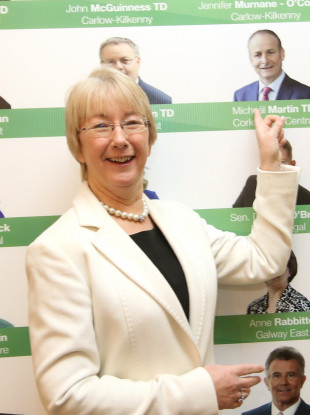 Mary Hanafin is number one on Barry Andrews' replacement list.