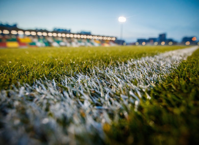 A general view of Tallaght Stadium.
