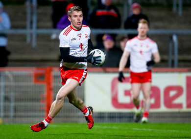 Ben McDonnell impressed for Tyrone in the league campaign.